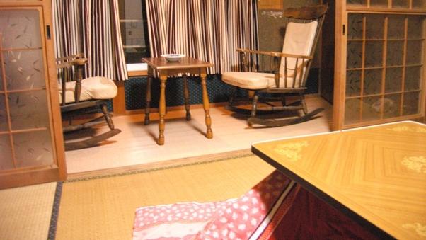和室4.5畳+広縁付(1名宿泊)