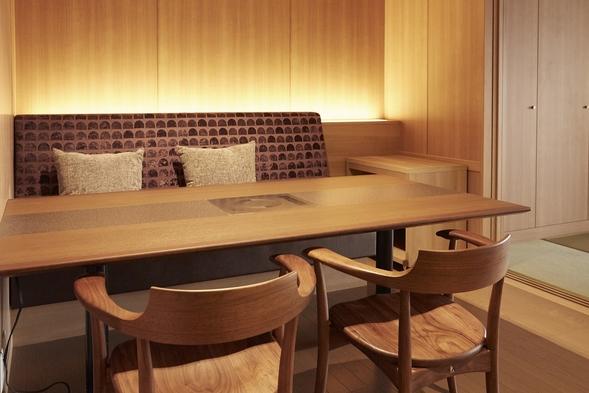 【山水亭】 露天風呂付客室で 夕食・朝食ともにお部屋食 ♪