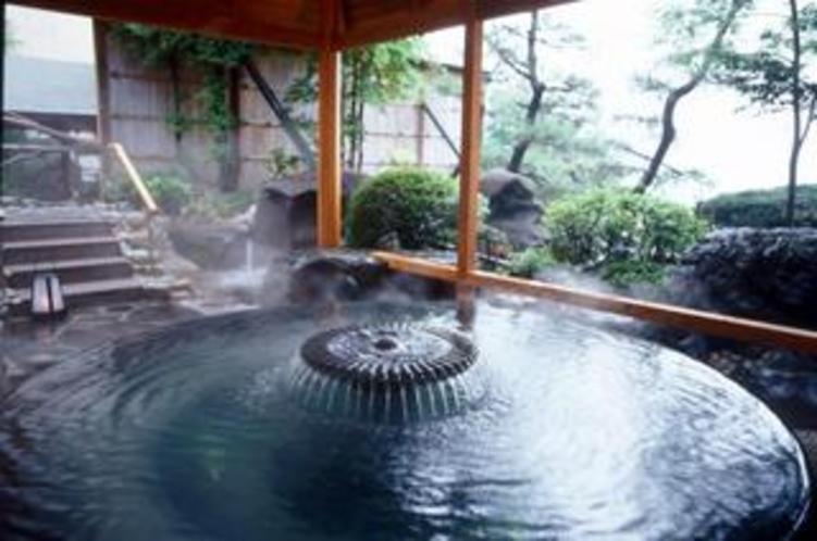 「千楽」庭園露天風呂館の湯