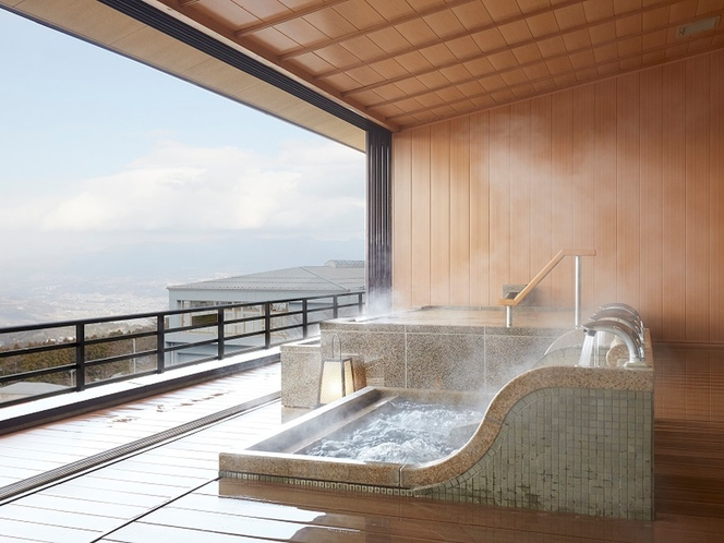 貸切展望風呂「嬉しの湯」