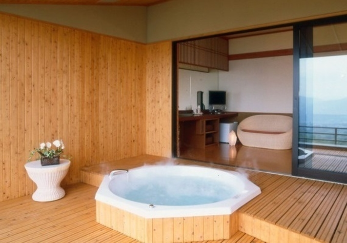 展望貸切風呂「美しの湯」 1時間2,000円税別