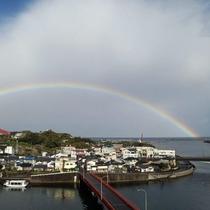 【虹】運がよければ綺麗な虹に遭遇することも・・・☆