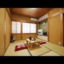 【6畳和室】一人旅やビジネスの方に人気のお部屋です。