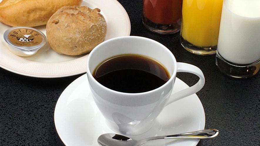 朝食:ほっと一息 コーヒーなど