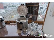 朝食 木島平産コシヒカリ