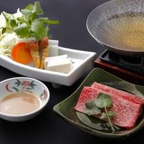 広島牛の小鍋
