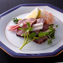 【冬季限定◆贅沢会席】平皿 広島牛のローストビーフ