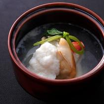 【冬季限定◆牡蠣づくし】広島産牡蠣と蟹の蕪蒸し