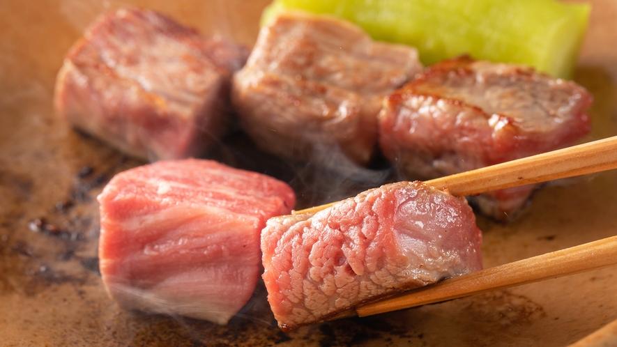 【広島牛ステーキ】