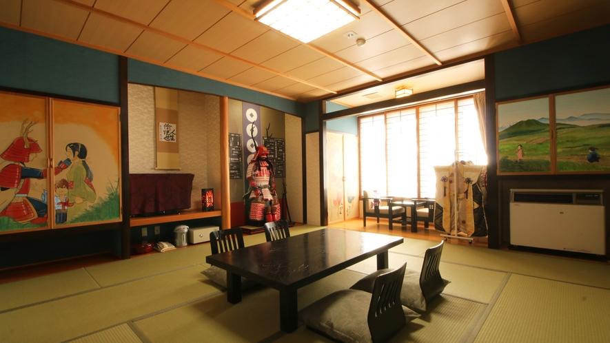 ◆1室限定の特別室◆真田の間◆歴史好きにはたまらない空間をお過ごしいただけます。