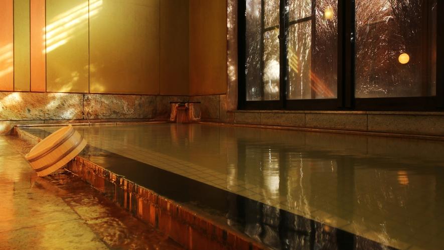 大浴場■お肌がすべすべになる美人の湯です