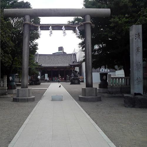 浅草神社(三社さま)