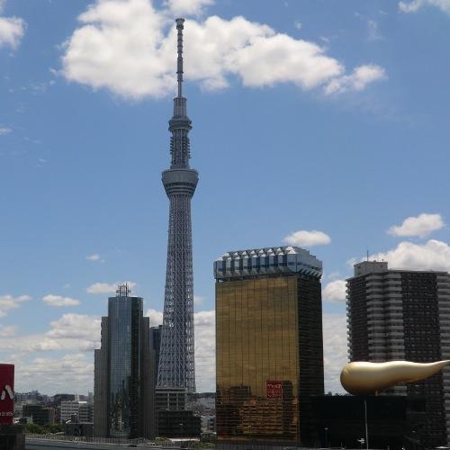 東京スカイツリー(R)とアサヒビール(2)