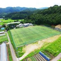 ☆周辺・景観_空撮_サッカーグラウンド (1)