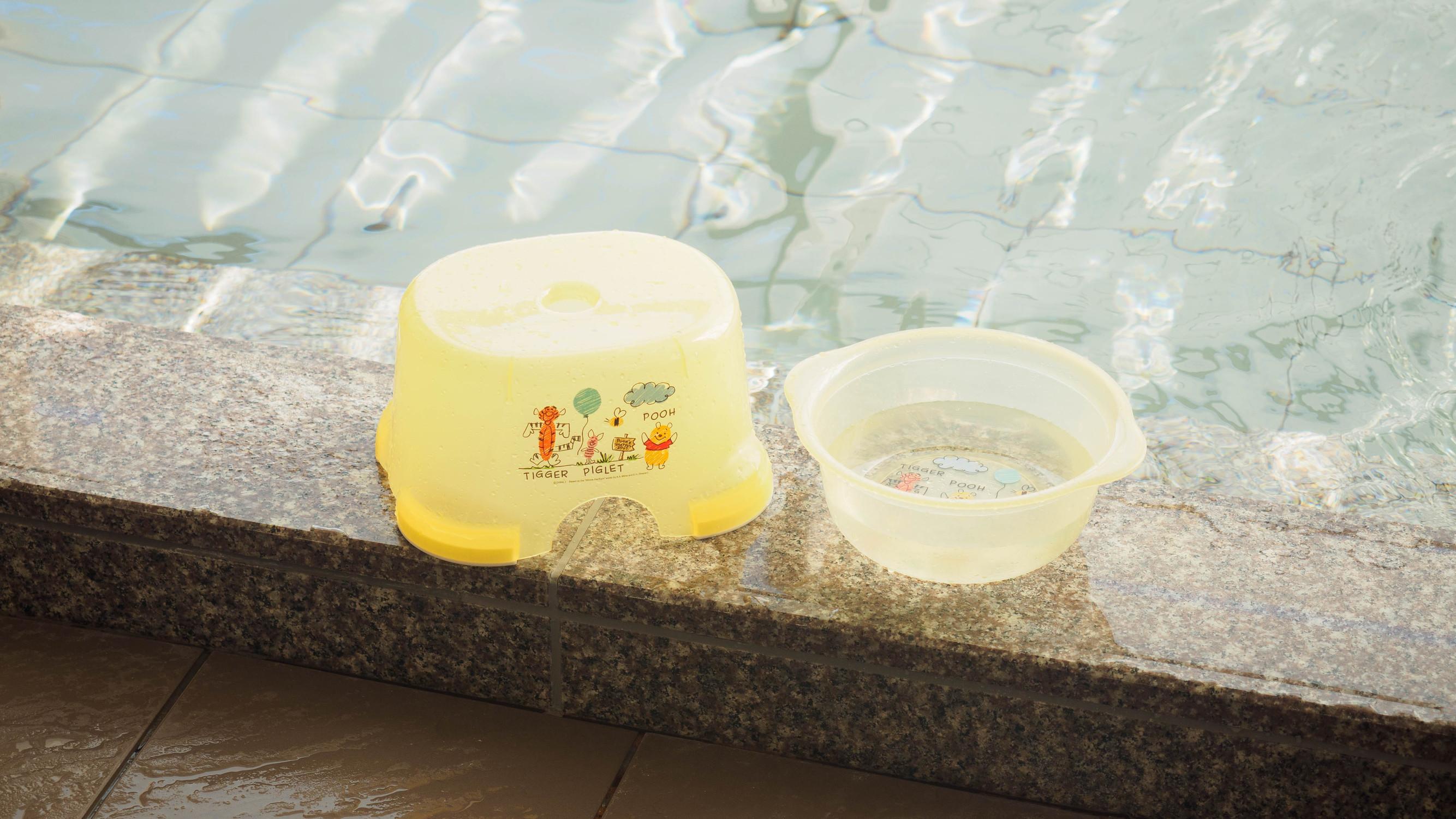 ■大浴場■お子様用のお風呂道具もございます。