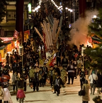 裸祭り【毎年1月中旬~下旬】