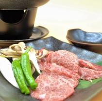 岩手県産牛じゅーじゅー焼き♪ 当店オリジナルメニューです。お好きな焼き加減でお召し上がり下さい。