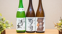 岩手県の地酒もお楽しみ頂けます