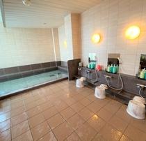 ラジウム人工温泉大浴場「旅人の湯」男女別15:00~2:00/5:00~10:00