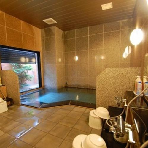 男女別大浴場「旅人の湯」1日の疲れをお取りください♪