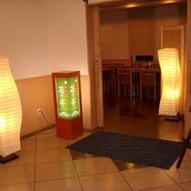 夕食レストラン「花々亭」入口