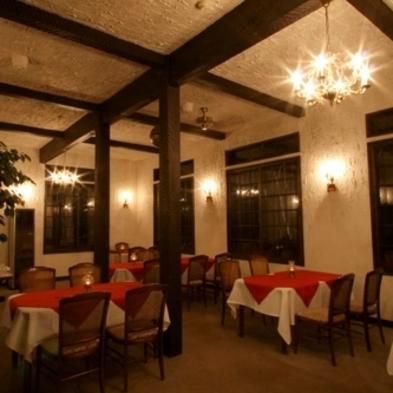 雰囲気◎の本館で過ごす和洋折衷ディナープラン(2食付のプラン)