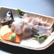 《夕食別注料理》岩魚のお造り 当館の人気別注メニュー