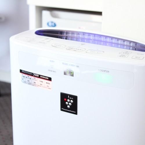 プラズマクラスター搭載加湿空気清浄機