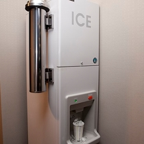 各フロアに製氷機をご用意