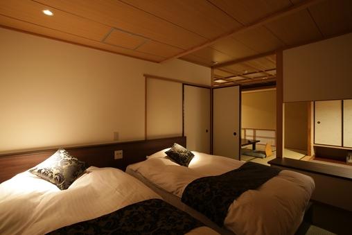 【花月館ベッド付和室】※禁煙