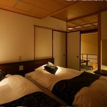 【花月館 -ベッド付和室-】