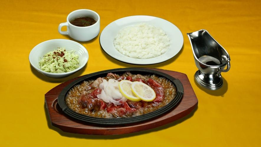 長崎和牛のレモンステーキ※プラス1000円でお召し上げりいただけます。
