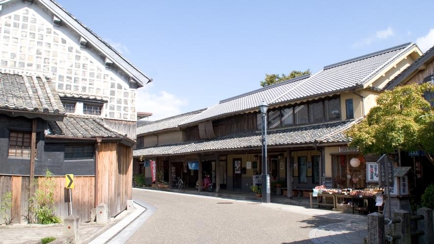 【豆田町】江戸時代、幕府の直轄領であり、町人文化が栄えた豆田町。