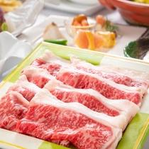 アップグレード夕食『国産黒毛和牛のしゃぶしゃぶコース』もどうぞ♪