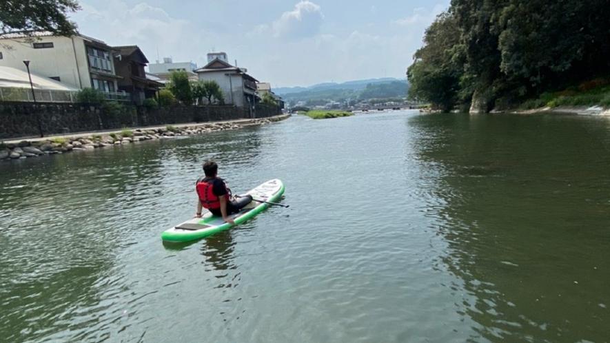 みくま川でSUP体験!大注目の新しいウォータースポーツが体験できます♪
