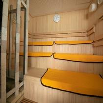 男性大浴場「あゆ」の新しいサウナ