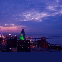ホテル海側夜景①