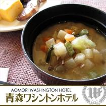 期間限定朝食イベント:郷土料理「けの汁」