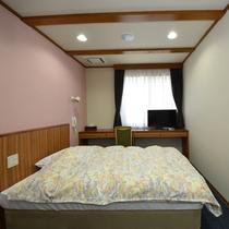 【全室禁煙】シングル シャワールームの付いたお部屋となります。