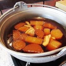 おふくろの味 本日の煮物「大根の田舎煮」