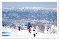蔵王温泉スキー場ゲレンデ ホテルよりお車で約35〜40分