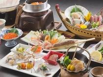 東北に来たら味わいたい、秋の風物詩「秋刀魚」のすり身などメインとした和食膳一例