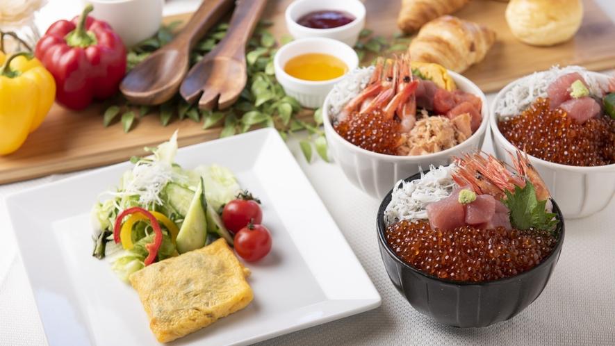 【朝食】朝食ビュッフェ/例