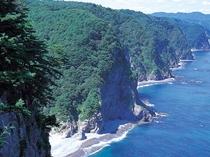 標高200mにも及ぶ大規模な断崖絶壁「鵜の巣断崖」(田野畑)