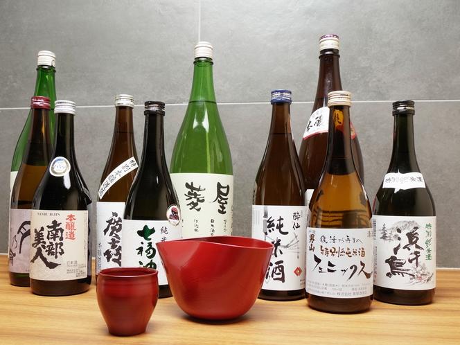 日本酒の作り手、杜氏が手掛けた良質の岩手地酒/例