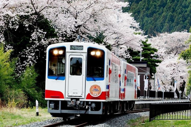春の三陸鉄道