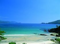 ホテルから車で約一時間ほど、海遊びSUP体験なども「波板海岸」(大槌)