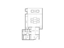 松側客室10畳間取りイメージ