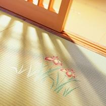 花模様の絵畳