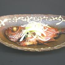 夕食メニュー 『金目鯛の姿煮』